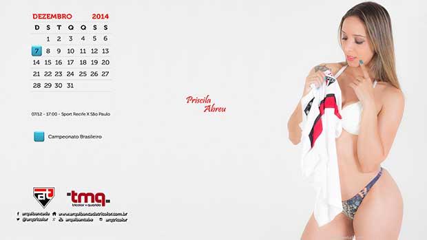 Calendário - Dezembro 2014